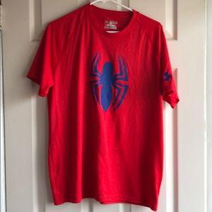 Under Armour men's spider man t-shirt